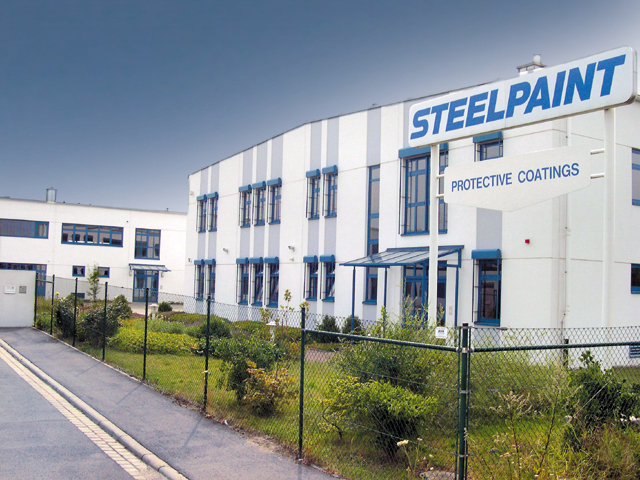 steelpaing building